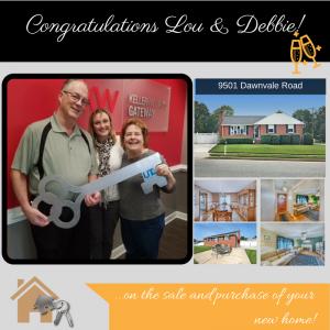 Congratulations Lou & Debbie!